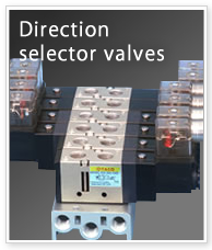 Direction selector valves