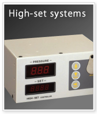High-set systems